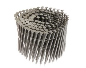15° Wire Coil Collated Nails