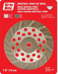 Industrial Quality Single Turbo Cup Wheels